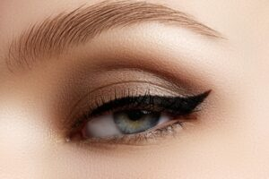 Fox eye maquillage